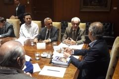 Presidente do SIPESP participa de audiência com o Governador
