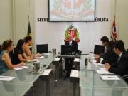 O SIPESP é recebido pelo Secretário de Segurança Pública