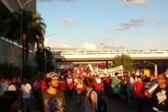 SIPESP presente nas manifestações em Brasília contra as reformas
