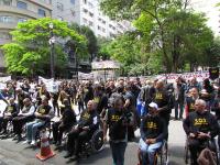 Ato público do movimento S.O.S. SEGURANÇA PÚBLICA mostra força
