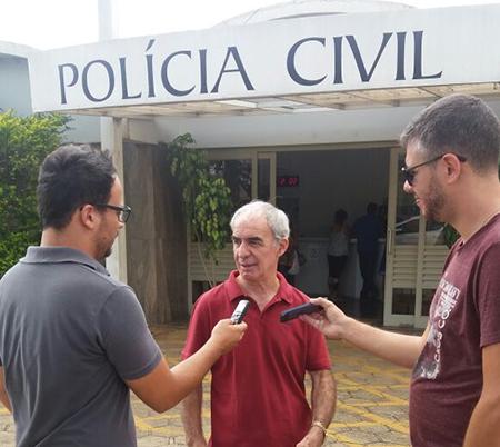 Presidente do SIPESP visita delegacia de São João de Boa Vista